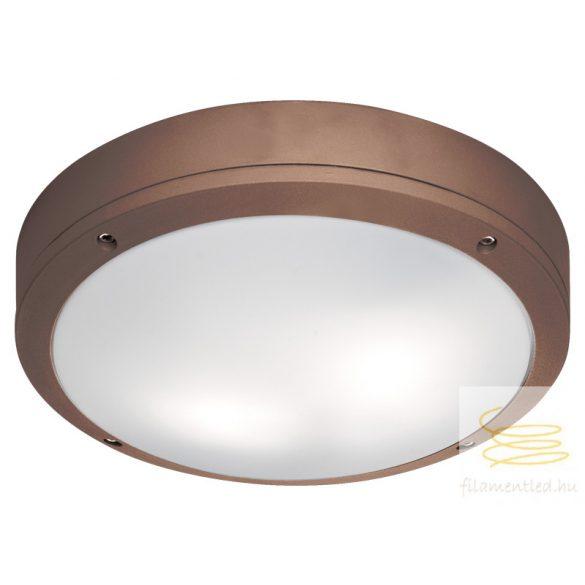 Viokef Ceiling lamp Brown Round Leros 4049203