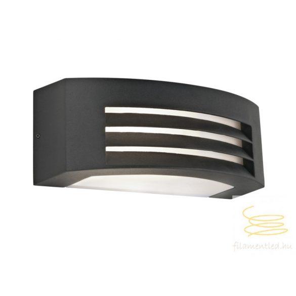 Viokef Outdoor wall lamp SQ Dark Gray Limnos 4080300