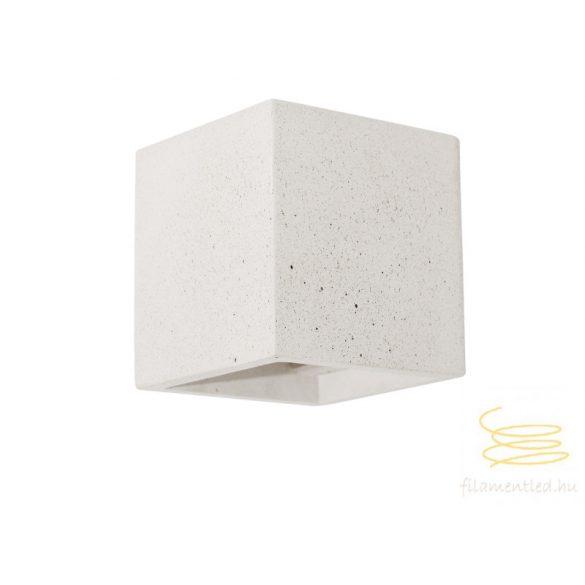 Viokef Wall lamp white cube Ceramic 4096902