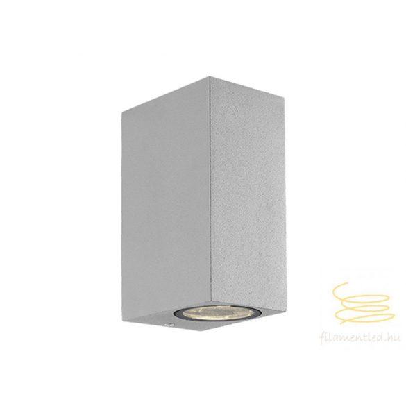 Viokef 2L wall lamp silver SQ H:150 Tilos 4099402