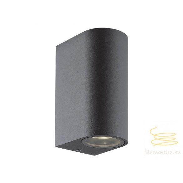 Viokef 2L wall lamp dark round H:150 Tilos 4099600