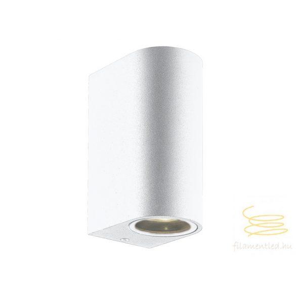 Viokef 2L wall lamp white round H:150 Tilos 4099601