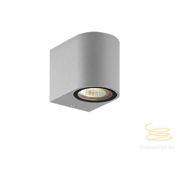 Viokef 1L wall lamp silver round H:150 Tilos 4099702