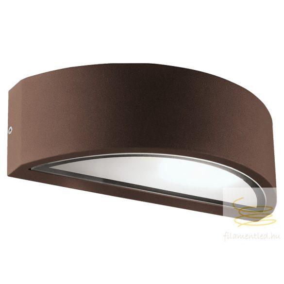 Viokef Wall lamp aluminum brown Rhodes 4100702