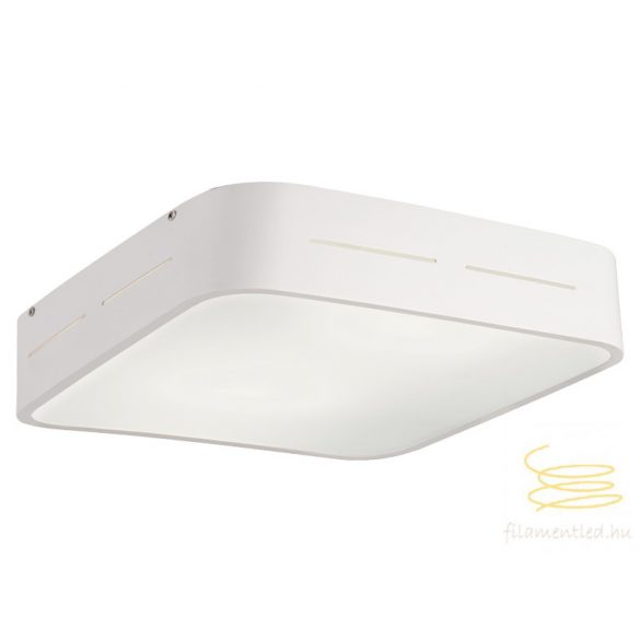 Viokef Ceiling lamp white 380x380 Terry 4104300