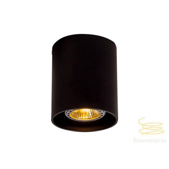 Viokef Ceiling lamp round black Dice 4144201