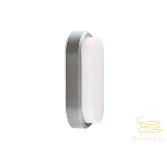 Viokef Outdoor PC wall lamp silver  Leros Plus 4171600