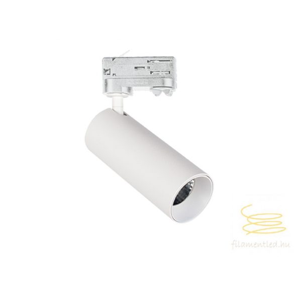 Viokef Downlight H:150 white with track Reeds 4184200