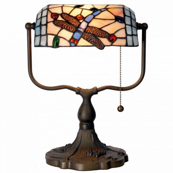 Filamentled Dragonfly Tiffany bankár lámpa FIL5LL-1144