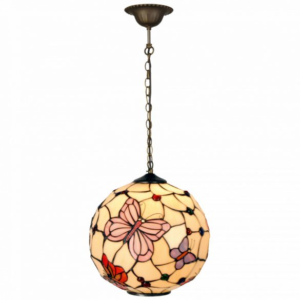 Filamentled Leeds Globe Tiffany függeszték FIL5LL-1169