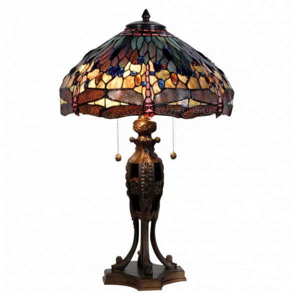 Filamentled Dragonfly Tiffany asztali lámpa FIL5LL-5296