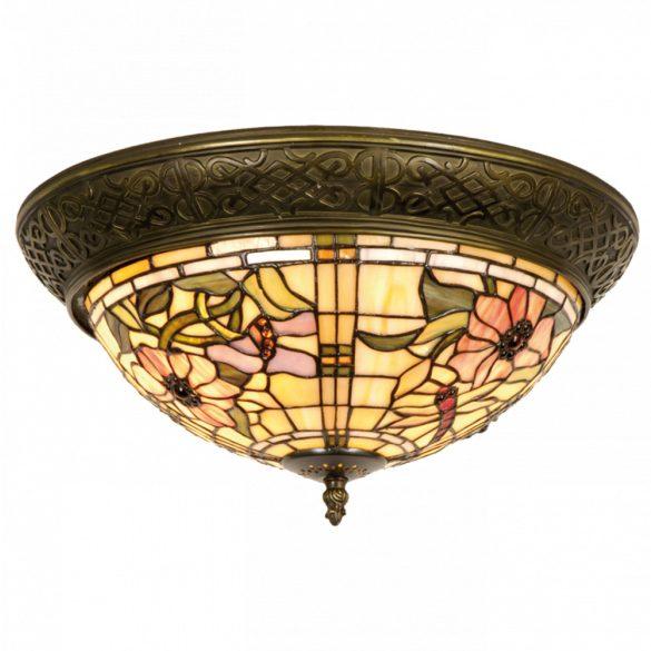 Filamentled Honley Tiffany mennyezeti lámpa FIL5LL-5350