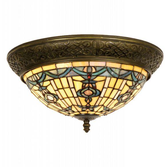 Filamentled Reepham Tiffany mennyezeti lámpa FIL5LL-5351