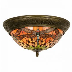 Filamentled Dragonfly M Tiffany mennyezeti lámpa FIL5LL-5360