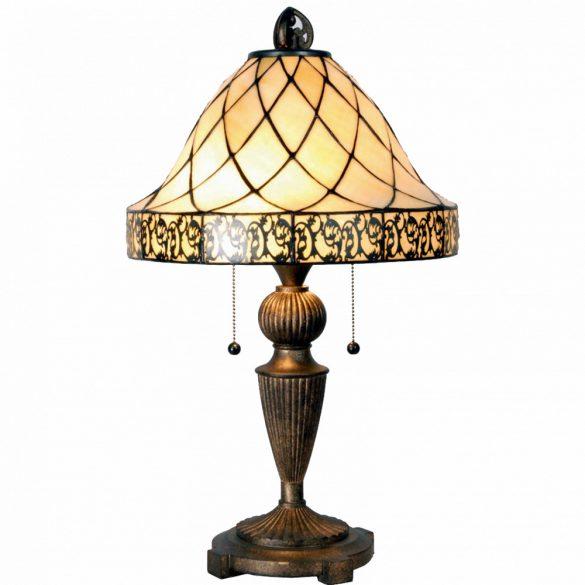 Filamentled Colchester Tifany asztali lámpa FIL5LL-5408