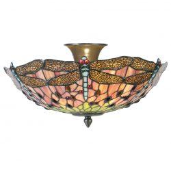Filamentled Dragonfly Tiffany mennyezeti lámpa FIL5LL-5415