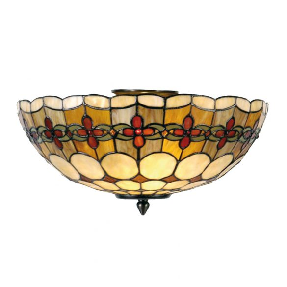 Filamentled Sunderland Tiffany mennyezeti lámpa FIL5LL-5416