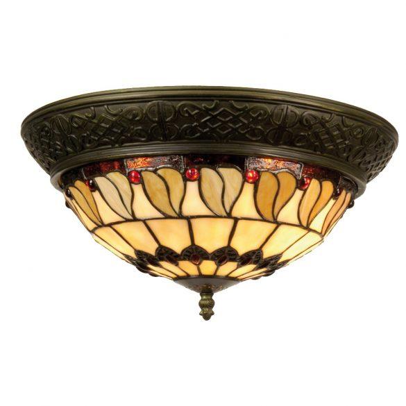 Filamentled Rovde Tiffany mennyezeti lámpa FIL5LL-5547