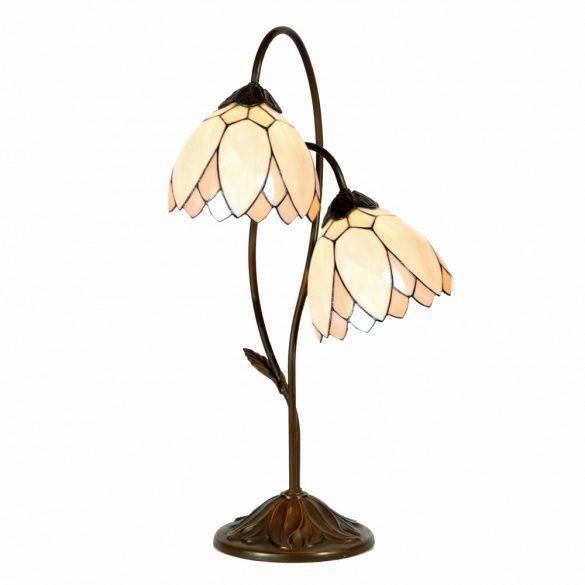 Filamentled Whitby Double Tiffany asztali lámpa FIL5LL-5602