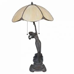 Filamentled Almer Tiffany asztali lámpa FIL5LL-5719