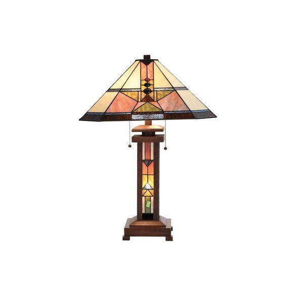 Filamentled Malpas Tiffany asztali lámpa FIL5LL-5781