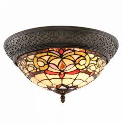 Filamentled Corwen Tiffany mennyezeti lámpa FIL5LL-5909