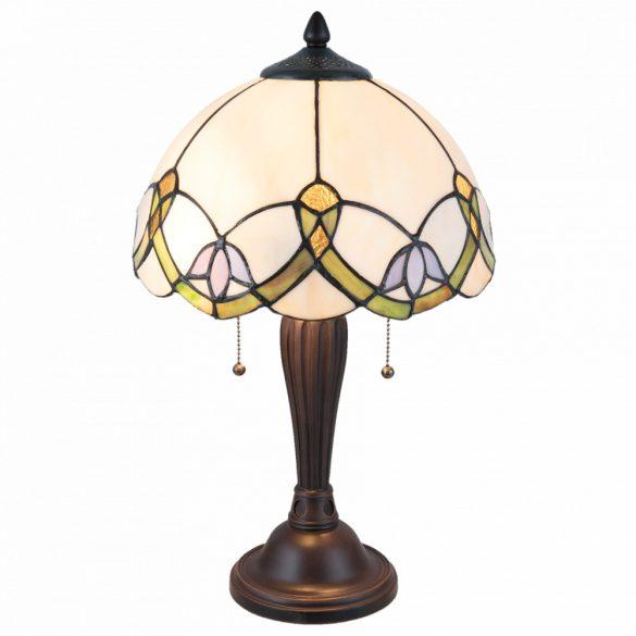 Filamentled Selsey Tiffany asztali lámpa FIL5LL-5918
