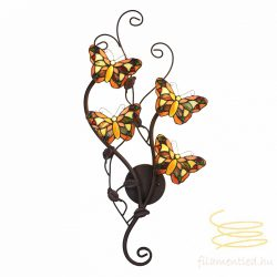 Filamentled Butterfly Tiffany fali lámpa FIL5LL-5979