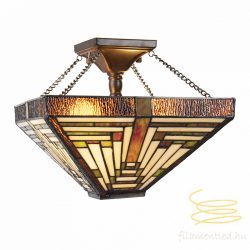 Filamentled Boltby Tiffany mennyezeti lámpa FIL5LL-6087