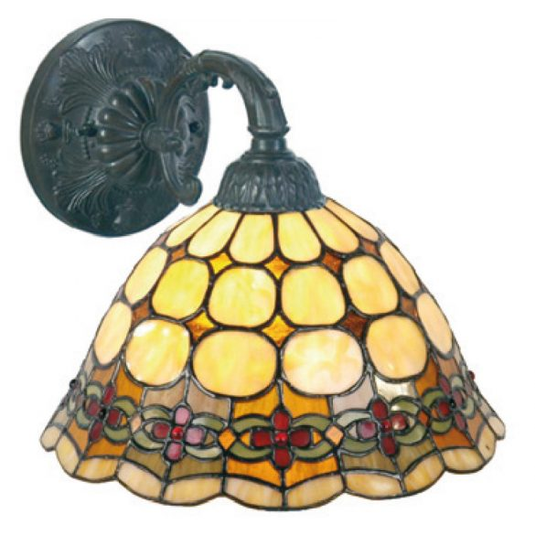 Filamentled Sunderland Tiffany fali lámpa FIL5LL-88288829
