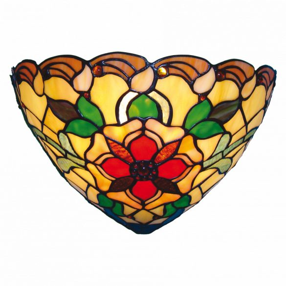 Filamentled Wellington Tiffany fali lámpa FIL5LL-8841