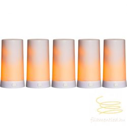 LED PILLAR CANDLE DINER 5 EXTRA