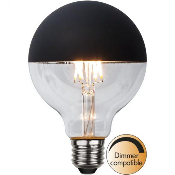 2,8W 2600K E27 BLACK G95 FILAMENT LED