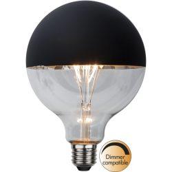 2,8W 2600K E27 G125 BLACK FILAMENT LED