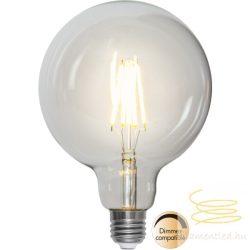 7,5W 2700K E27 G125 FILAMENT LED