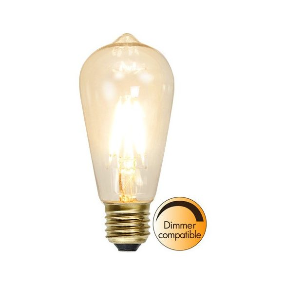 1,6W 2100K E27 ST58 FILAMENT LED
