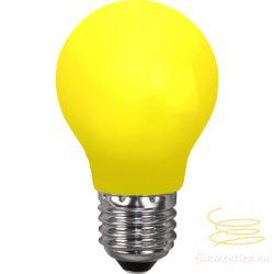 0,9W YELLOW E27 PARTY COLOR A55 LED