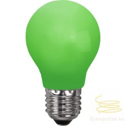 0,9W GREEN E27 PARTY COLOR A55 LED