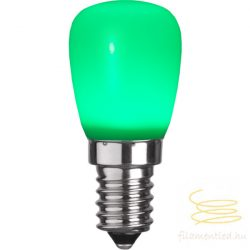 0,9W GREEN E14 PARTY COLOR ST26 LED