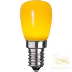0,9W YELLOW E14 PARTY COLOR ST26 LED