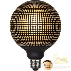 4W 2700K E27 GRAPHIC DOT G125 FILAMENT LED