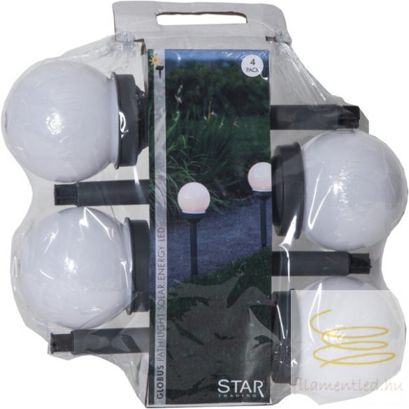 SOLAR BOLLARD 4 PACK GLOBUS